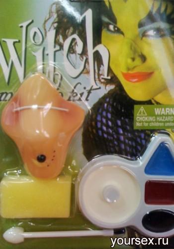 Набор Грим Accessories Ведьмы