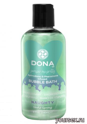 Пена для ванн DONA Bubble Bath Naughty Aroma: Sinful Spring 240 мл