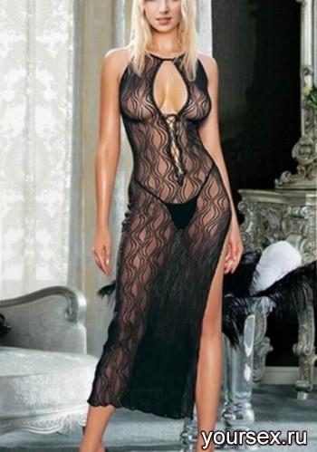 Платье Temptlife с волнистым рисунком,черный S-L