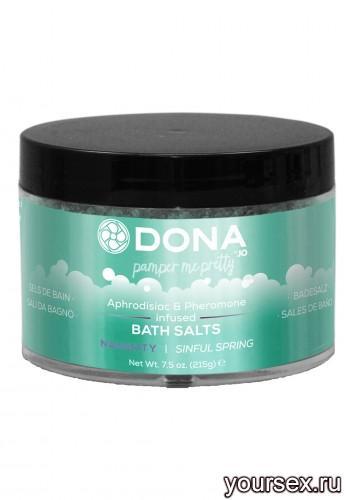 Соль для ванны DONA Bath Salt Naughty Aroma: Sinful Spring 215 г