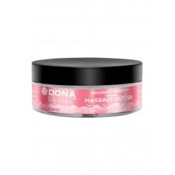 Увлажняющий крем-масло для массажа DONA Massage Butter Flirty Aroma: Blushing Berry 115 мл
