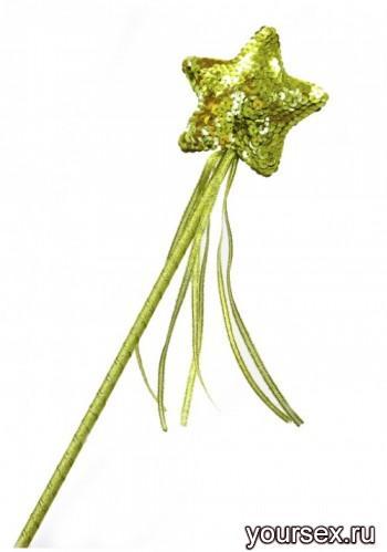 Волшебная палочка Accessories золотая
