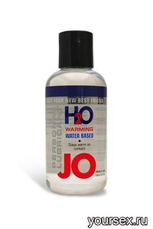 Возбуждающий любрикант на водной основе JO Personal Lubricant H2O Warming, 120 мл