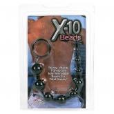 Анальные Бусы X-10 Beads Black