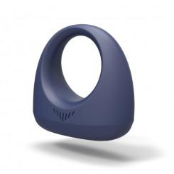 Эрекционное смарт вибро-кольцо Dante Smart Wearable Ring, синий