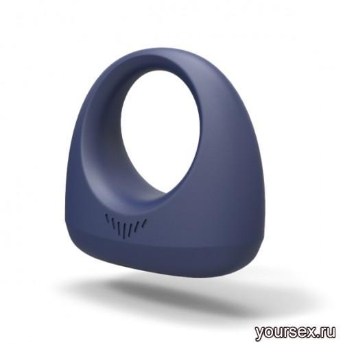 Эрекционное смарт вибро-кольцо DANTE SMART WEARABLE RING синий