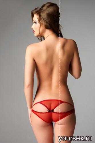 Красные стринги Ibi L/XL