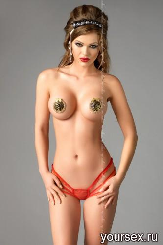 Красные стринги Julitte S/M
