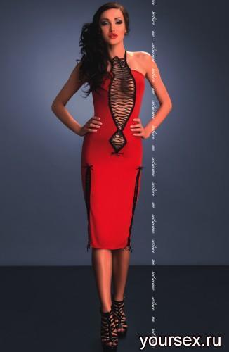 Красное платье Maxima L/XL