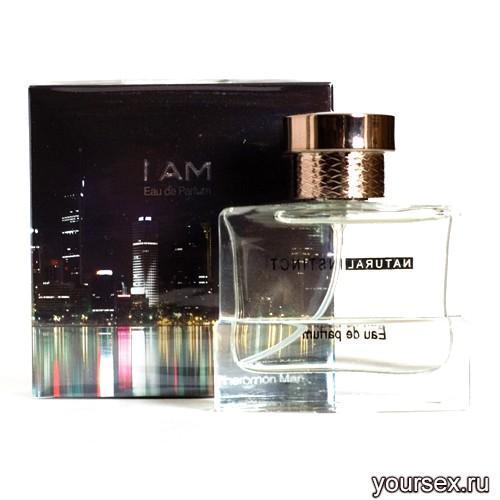 Мужская парфюмерная вода с феромонами Natural Instinct I am, 100 мл