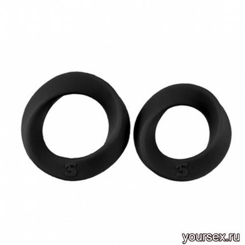 Набор эрекционных колец Endless Cocking Set, черный