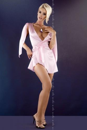 Розовый пеньюар Florence XXL/3XL