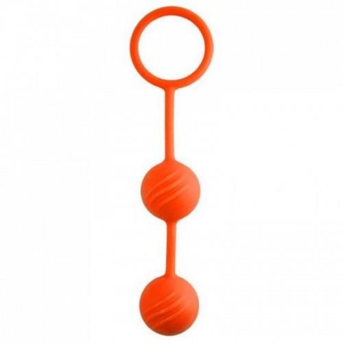 Вагинальные шарики Kegel Ball ОРАНЖЕВЫЕ 46701