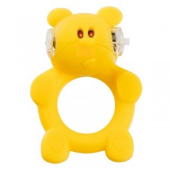 Вибронасадка Beasty Toys Brutal Bear, желтый