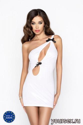 Белое мини-платье Cornelia S/M