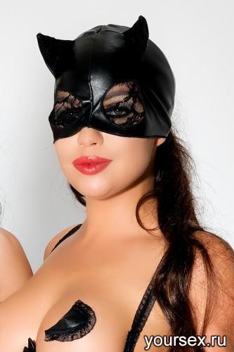 Черная маска MK03