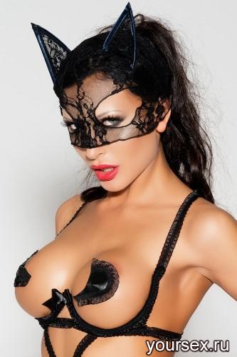 Черная маска MK04