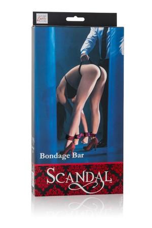 Бондаж Scandal Bondage Bar черный с красным