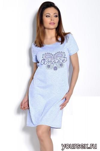 Голубая сорочка Agnieszka M