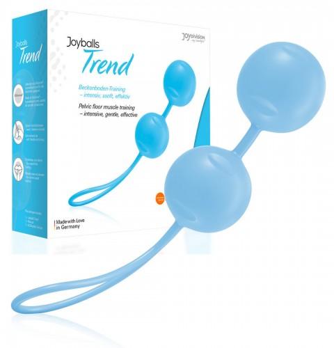 Joyballs Trend Вагинальные шарики голубые матовые