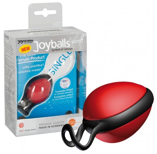 Joyballs Вагинальный шарик Secret красный