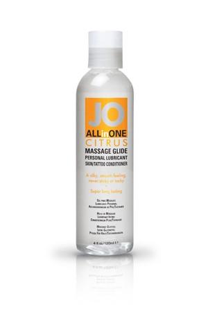 Массажный гель-масло ALL-IN-ONE Massage Oil Citrus с ароматом цитруса 120 мл