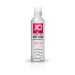 Массажный гель-масло ALL-IN-ONE Massage Oil Cranberry клюквенный 120 мл