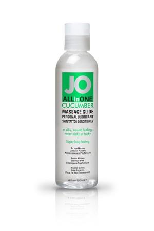Массажный гель-масло ALL-IN-ONE Massage Oil Cucumber огуречный 120 мл