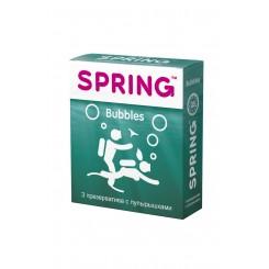Презервативы Spring Bubbles №3 С пупырышками