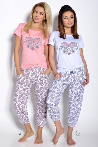Розовая футболка и штаны Cleo L