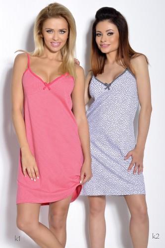 Розовая сорочка Wiki XL