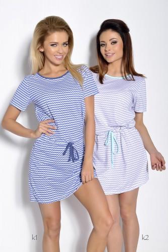Синяя сорочка Ksara M