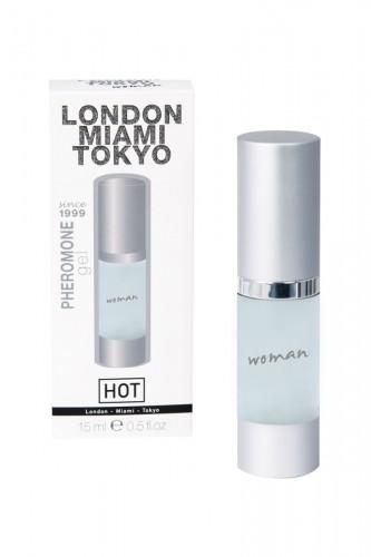 Духи для Женщин LONDON-MIAMI-TOKYO - 15 мл