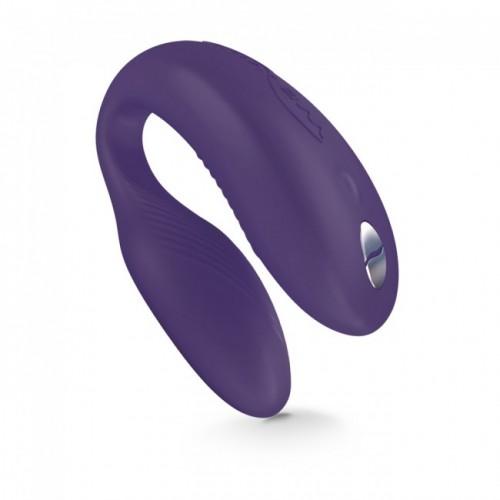 Вибромассажер We-Vibe Sync Purple на радиоуправлении