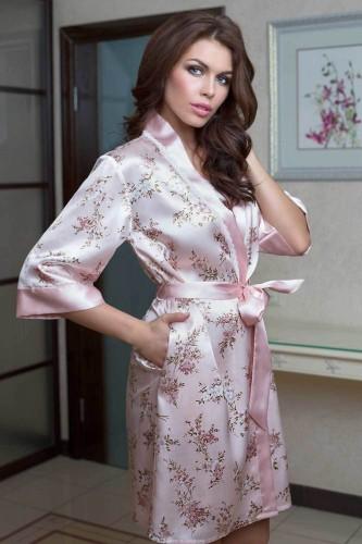 Кимоно Mia-Mia Luisa, розовое L/XL