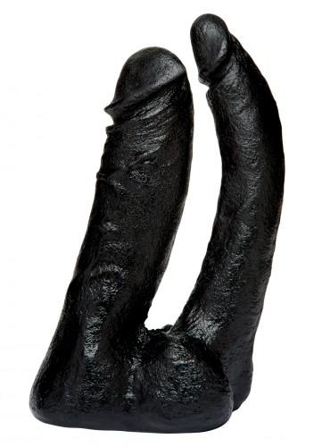 Двойная насадка фаллоимитатор Vac-U-Lock-Double Penetrator, черная