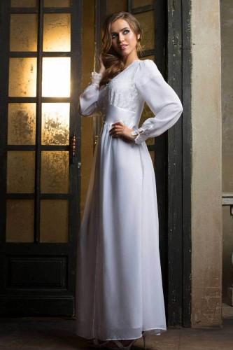 Пеньюар Mia-Mia Lady in white, белый L