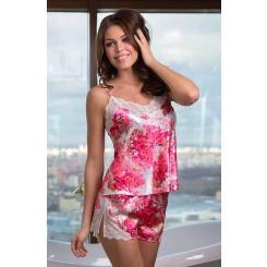 Пижама Mia-Mia Rosalia, розовая S