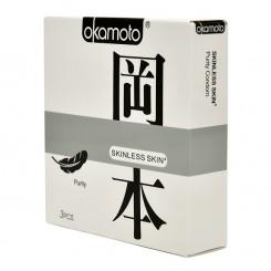 Презервативы Okamoto Purity №3, классические телесного цвета