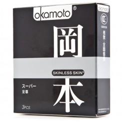 Презервативы Okamoto Skinless Skin Super 3 шт