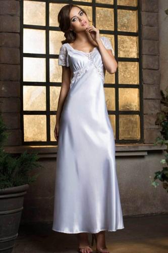 Сорочка Длинная Mia-Mia Lady in white, белая L