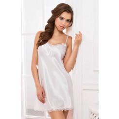 Сорочка Короткая Mia-Mia Lady in white, белая L