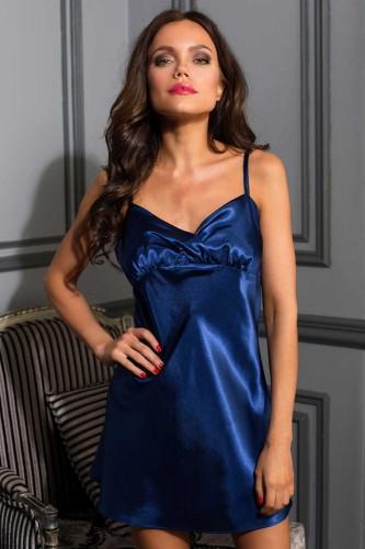 Сорочка Mia-Mia Crystal, синяя XL