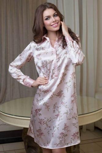 Сорочка-Рубашка Mia-Mia Luisa, розовая XL