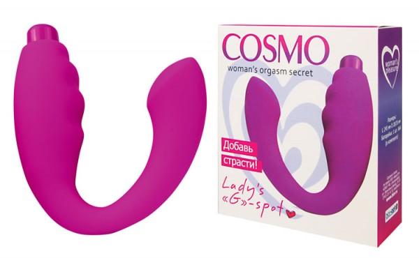 Вибратор COSMO, розовый