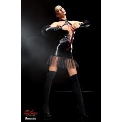 Платье с чулками Demoniq Martha premium, S/M