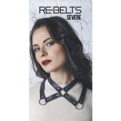 Колье-воротник Severe Rebelts, черное, OS