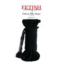 Веревка для фиксации Deluxe Silky Rope черная