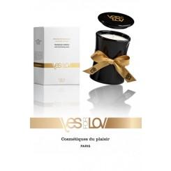 Свеча с массажным маслом YESforLOV аромат Bewitching scent, 120 гр