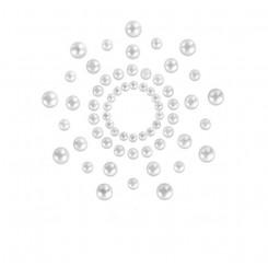 Пестисы Bijoux Indiscrets - Mimi Pearl, жемчужный